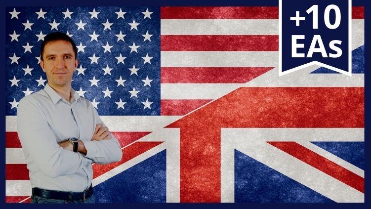 Top 10 GBPUSD Expert Advisors Course