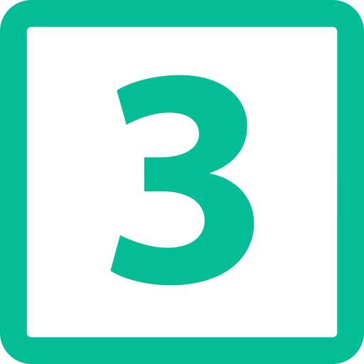 number-three-button